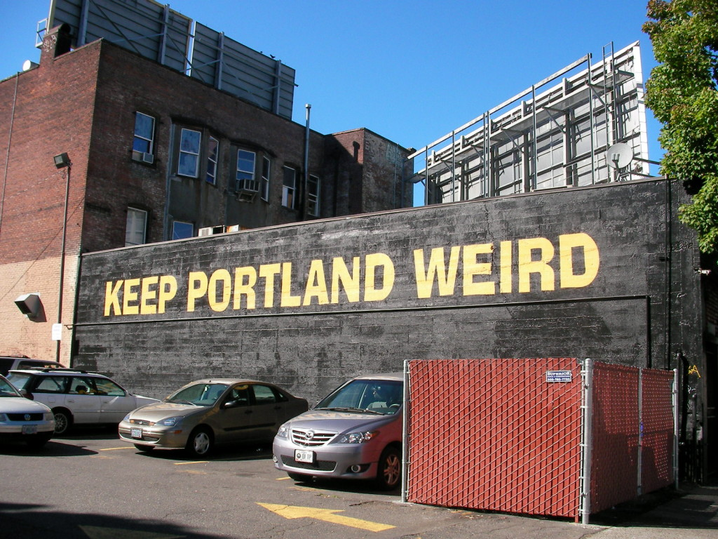 Sorry Austin...this author's from Portland.